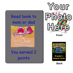 Reward Cards By Randi L  Stanley   Playing Cards 54 Designs   Q8xov8zlg7he   Www Artscow Com Front - Club6