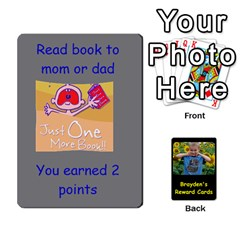 Reward Cards By Randi L  Stanley   Playing Cards 54 Designs   Q8xov8zlg7he   Www Artscow Com Front - Club7
