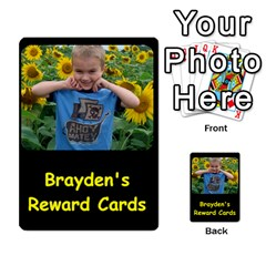 Reward Cards By Randi L  Stanley   Playing Cards 54 Designs   Q8xov8zlg7he   Www Artscow Com Back