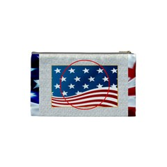My Hero Us Military Cosmetic Bag Small By Catvinnat   Cosmetic Bag (small)   7n7ppncmxpbi   Www Artscow Com Back