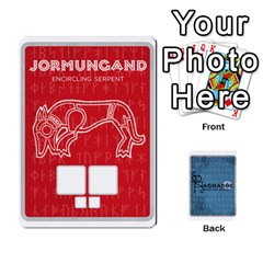 Ragnarok: Aesir And Jotunn [economy] By Todd Sanders   Playing Cards 54 Designs   2oy7ttyp21mr   Www Artscow Com Front - Heart3