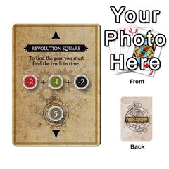 King Aether Captains: Clockwork Cabal [economy] By Todd Sanders   Playing Cards 54 Designs   8qicua17fxxm   Www Artscow Com Front - HeartK
