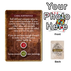 Aether Captains: Clockwork Cabal [economy] By Todd Sanders   Playing Cards 54 Designs   8qicua17fxxm   Www Artscow Com Front - Club3