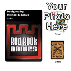 Aces & Eights By Michael   Playing Cards 54 Designs   54cdgb96g0ea   Www Artscow Com Front - Joker2