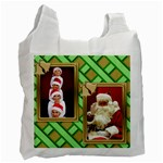 Christmas recycle stocking bag - Recycle Bag (One Side)