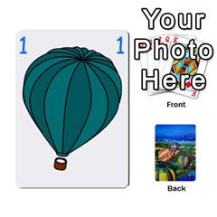 Balloon Cup By Kas   Playing Cards 54 Designs   Gullzn5x0wyp   Www Artscow Com Front - Heart2