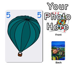 Balloon Cup By Kas   Playing Cards 54 Designs   Gullzn5x0wyp   Www Artscow Com Front - Heart5