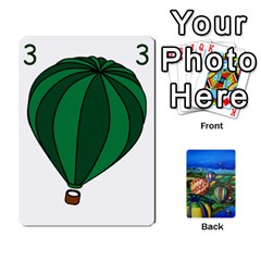 Balloon Cup By Kas   Playing Cards 54 Designs   Gullzn5x0wyp   Www Artscow Com Front - Spade4