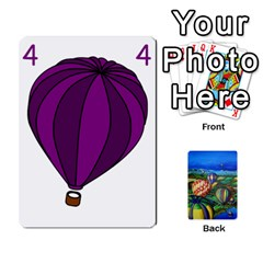 Balloon Cup By Kas   Playing Cards 54 Designs   Gullzn5x0wyp   Www Artscow Com Front - Diamond2