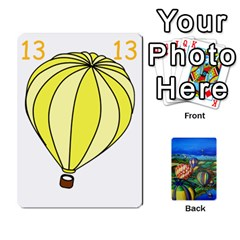 Balloon Cup By Kas   Playing Cards 54 Designs   Gullzn5x0wyp   Www Artscow Com Front - Club2