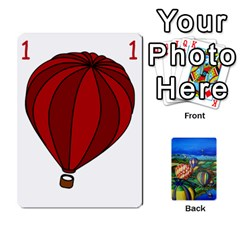 Balloon Cup By Kas   Playing Cards 54 Designs   Gullzn5x0wyp   Www Artscow Com Front - Club3