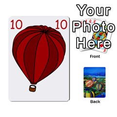 Balloon Cup By Kas   Playing Cards 54 Designs   Gullzn5x0wyp   Www Artscow Com Front - Club6