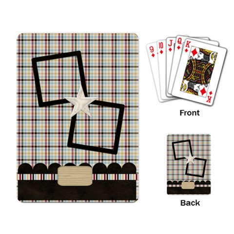 A Day To Celebrate Playing Cards 1 By Lisa Minor   Playing Cards Single Design   Kn4pfj0xu7p1   Www Artscow Com Back