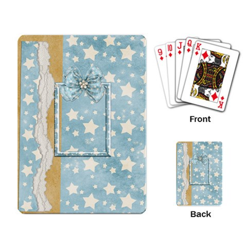 A Day To Celebrate Playing Cards 2 By Lisa Minor   Playing Cards Single Design   Moocfsmygyc2   Www Artscow Com Back