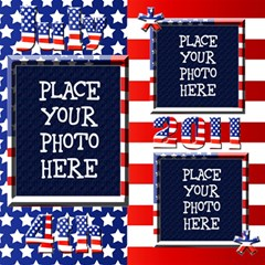 4th Of July 12x12 Scrapbook Pages By Chere s Creations   Scrapbook Page 12  X 12    A9dnbxfy6e3s   Www Artscow Com 12 x12 Scrapbook Page - 4