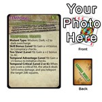 Gamma World - Origin Cards - Playing Cards 54 Designs