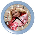Protea Family clock - Color Wall Clock