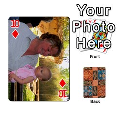 Family Cards By Mary Nickels   Playing Cards 54 Designs   Lrlwgyy6dudr   Www Artscow Com Front - Diamond10