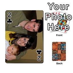 Family Cards By Mary Nickels   Playing Cards 54 Designs   Lrlwgyy6dudr   Www Artscow Com Front - Club2