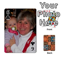 Family Cards By Mary Nickels   Playing Cards 54 Designs   Lrlwgyy6dudr   Www Artscow Com Front - Club6