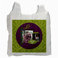 Summer Fun Recycle Bag By Klh   Recycle Bag (two Side)   Unhvknt3aei8   Www Artscow Com Front
