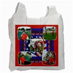God Bless America Single side recycle bag - Recycle Bag (One Side)