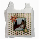 Christmas cookies Single Side Recycle Bag - Recycle Bag (One Side)