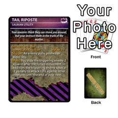 Gamma World   Power Cards, Deck C By Chris Taylor   Playing Cards 54 Designs   O666lplg53n3   Www Artscow Com Front - Heart4