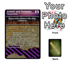 Gamma World   Power Cards, Deck C By Chris Taylor   Playing Cards 54 Designs   O666lplg53n3   Www Artscow Com Front - Club5