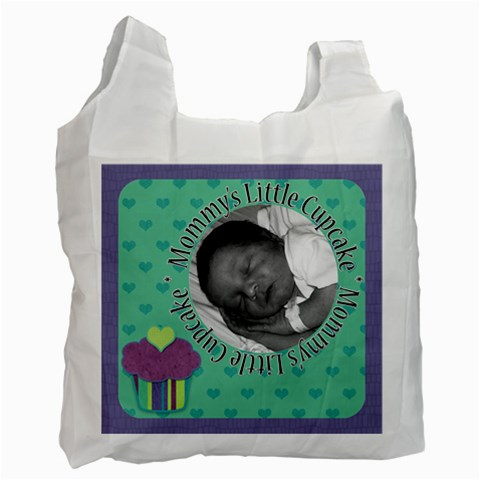 Mommy s Little Cupcake Recycle Bag By Klh   Recycle Bag (one Side)   776z9h7k7v6i   Www Artscow Com Front