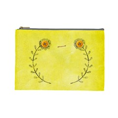 Cosmetic Bag 10 By Deca   Cosmetic Bag (large)   B16v0tzg8hdh   Www Artscow Com Front