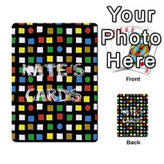 Kates Cards By Kate M   Playing Cards 54 Designs   Tuntgwvdybky   Www Artscow Com Back