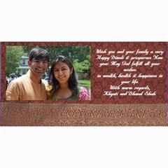 Diwali Card By Khyati Shah   4  X 8  Photo Cards   Zm639ku9gnrv   Www Artscow Com 8 x4 Photo Card - 1
