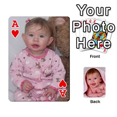 Ace Juliana s Playing Cards By Lisa   Playing Cards 54 Designs   Ss5lvp4kz9ni   Www Artscow Com Front - HeartA