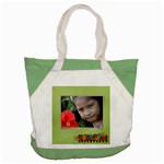 Accent Tote Bag : Summer Flowers