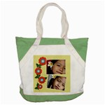 Accent Tote Bag : Summer Flowers 3