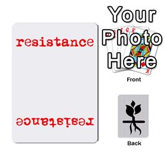 The Resistance By Gadior   Playing Cards 54 Designs   Iai8r0pweelf   Www Artscow Com Front - Spade8
