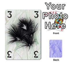 Ikeba By Mynth   Playing Cards 54 Designs   D5x6vl4zmjbj   Www Artscow Com Front - Diamond5