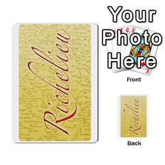 Richelieu3 By Roi   Playing Cards 54 Designs   Hw4zpxlshhwn   Www Artscow Com Front - Spade2