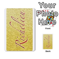 Richelieu3 By Roi   Playing Cards 54 Designs   Hw4zpxlshhwn   Www Artscow Com Back