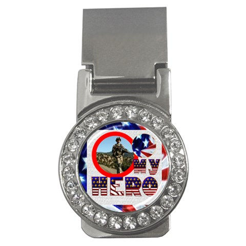 My Hero Us Military Cz Money Clip By Catvinnat   Money Clip (cz)   At6mfv4x7u1a   Www Artscow Com Front