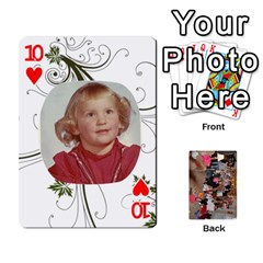 Grandma s Cards By Larissa   Playing Cards 54 Designs   Dt2tabmia5gj   Www Artscow Com Front - Heart10