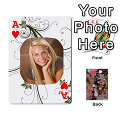 Ace Grandma s Cards By Larissa   Playing Cards 54 Designs   Dt2tabmia5gj   Www Artscow Com Front - HeartA