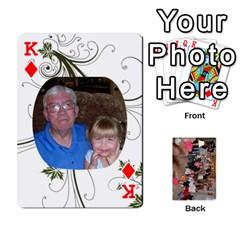 King Grandma s Cards By Larissa   Playing Cards 54 Designs   Dt2tabmia5gj   Www Artscow Com Front - DiamondK