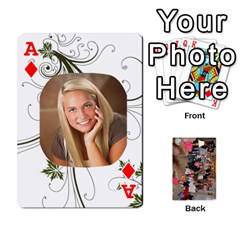 Ace Grandma s Cards By Larissa   Playing Cards 54 Designs   Dt2tabmia5gj   Www Artscow Com Front - DiamondA