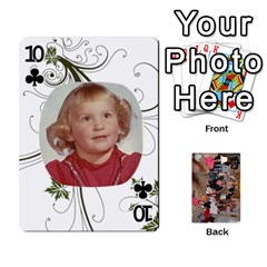 Grandma s Cards By Larissa   Playing Cards 54 Designs   Dt2tabmia5gj   Www Artscow Com Front - Club10