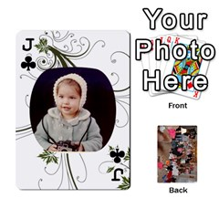 Jack Grandma s Cards By Larissa   Playing Cards 54 Designs   Dt2tabmia5gj   Www Artscow Com Front - ClubJ