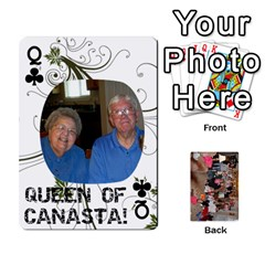 Queen Grandma s Cards By Larissa   Playing Cards 54 Designs   Dt2tabmia5gj   Www Artscow Com Front - ClubQ