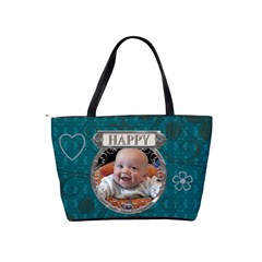 Happy Giggle Classic Shoulder Handbag By Lil    Classic Shoulder Handbag   Hnphmt1dkojl   Www Artscow Com Back