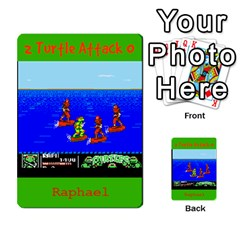 Tmnt Turtle Deck By Daniel Chick   Multi Purpose Cards (rectangle)   180347   Www Artscow Com Front 51